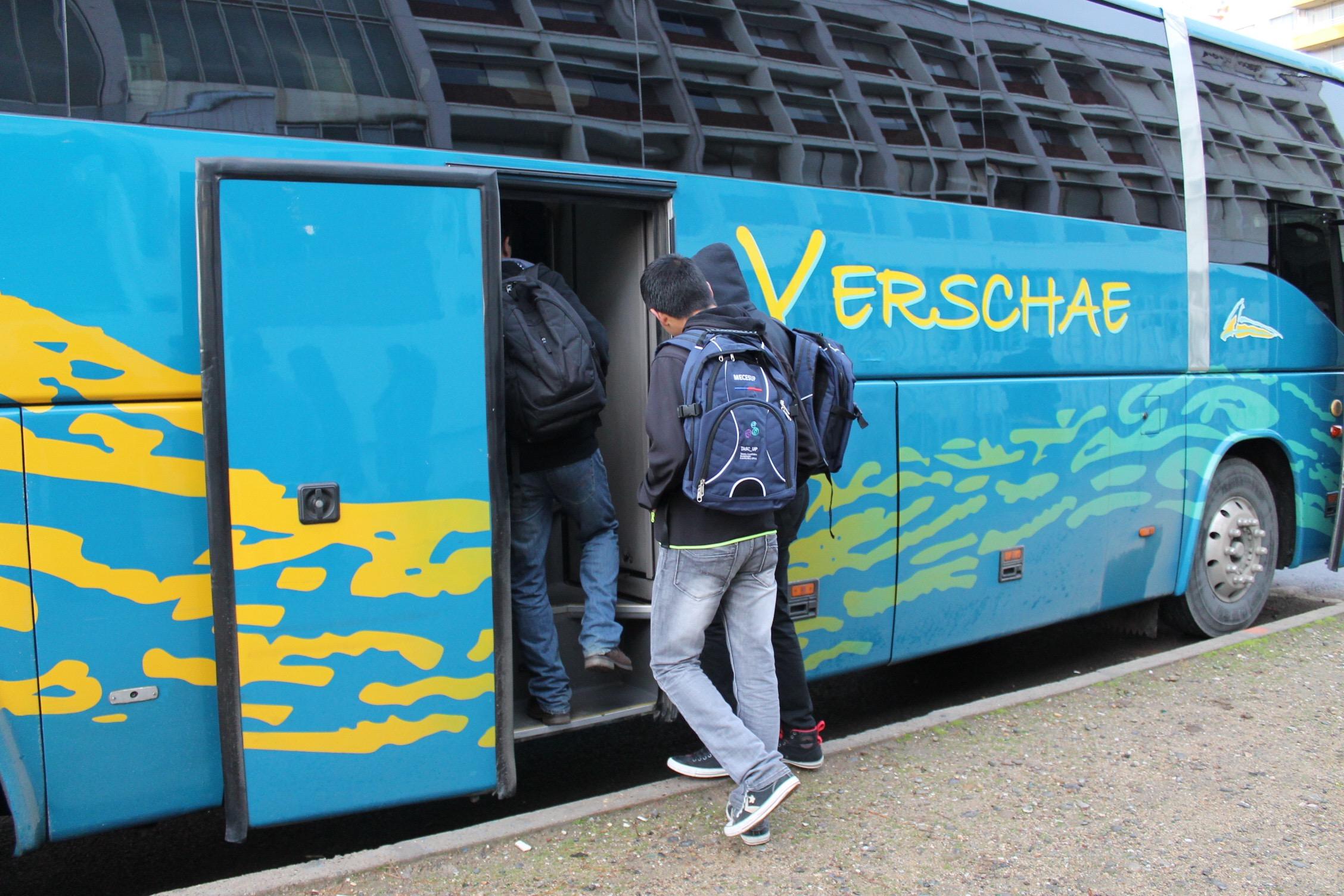 Subida al Bus