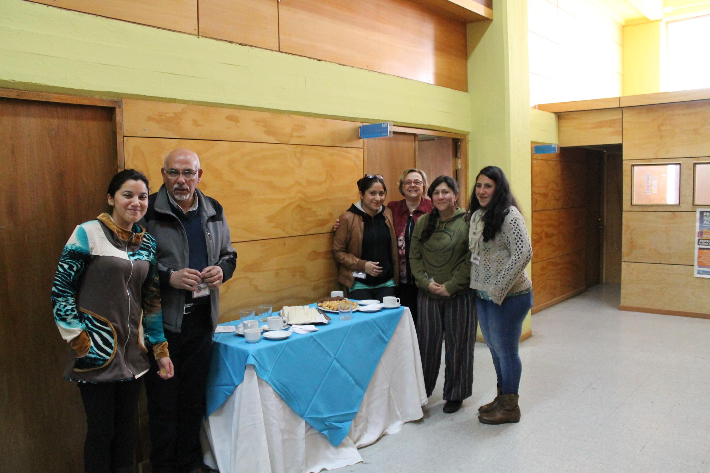 Bianca Dapelo y participantes de Workshop