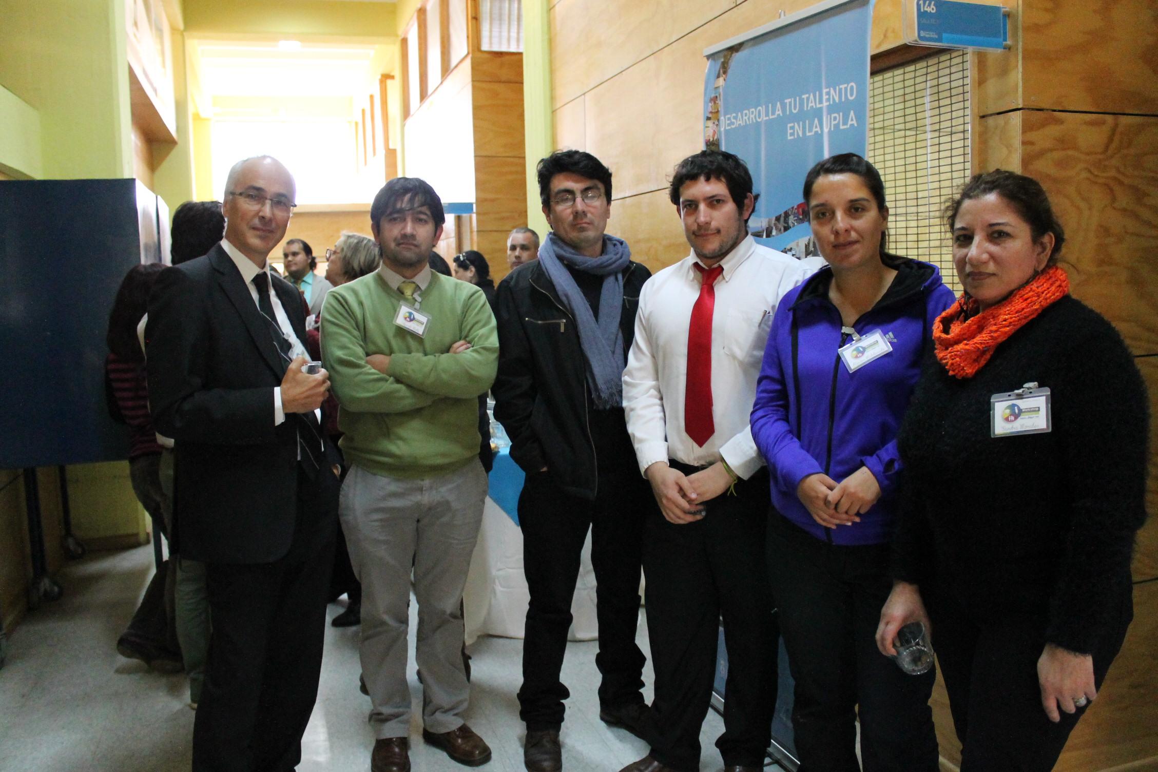 Andrew y participantes