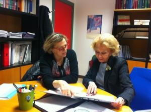 Reunión con Dra. Luz Perez Sanchez UCM